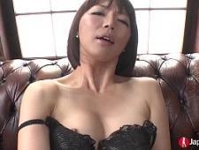 Секс с красивой японкой