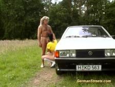 Снял проститутку на трассе