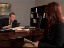 Трахнул бухгалтершу на рабочем столе