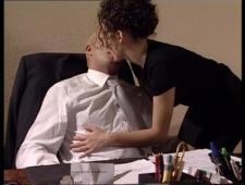 Захомутала мужика в офисе