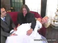 Ебут невесту в два ствола
