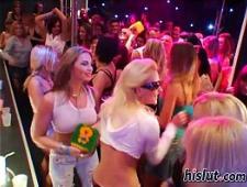 Вечеринка с еблями в ночном клубе