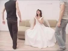 Ебут невесту перед свадьбой